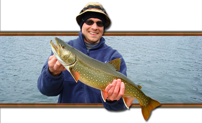 Splake - Cross between a Lake Trout and a Brook Trout